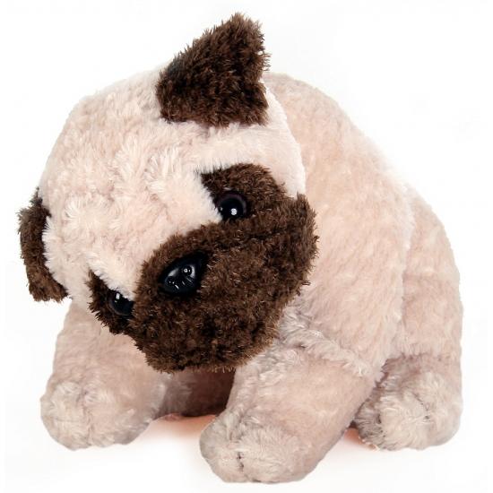 3d15127c5ddfa7 Mopshond pup 28 cm, Mops hond knuffels - Knuffels-shop.nl